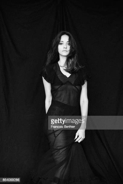 Actress Anne Serra is photographed on July 25 2017 in Paris France