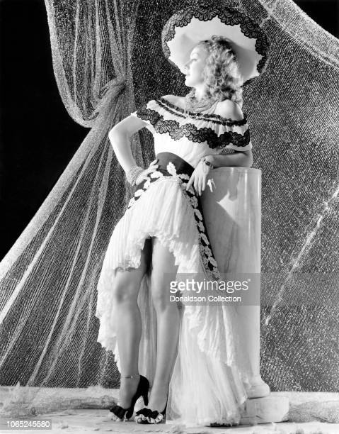 Actress Anne Shirley in a scene from the movie 'Music in Manhattan'