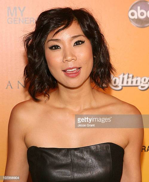 Actress Anne Son attends the ABC 'My Generation' Rock the Roof event hosted by Rolling Stone Magazine at the Andaz Hotel on June 23 2010 in West...