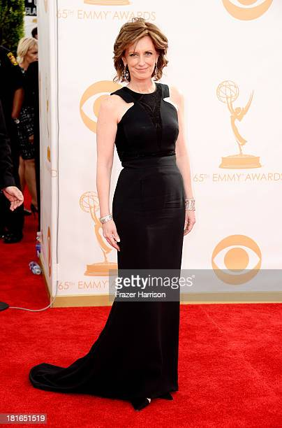 Actress Anne Sweeney arrives at the 65th Annual Primetime Emmy Awards held at Nokia Theatre LA Live on September 22 2013 in Los Angeles California
