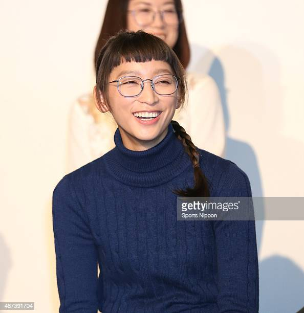 Actress Anne Watanabe attends Fuji TV program Press conference on January 12, 2015 in Tokyo, Japan.