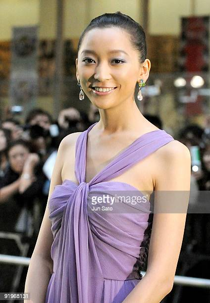 Actress Anne Watanabe attends the 22nd Tokyo International Film Festival Opening Ceremony at Roppongi Hills on October 17, 2009 in Tokyo, Japan. TIFF...