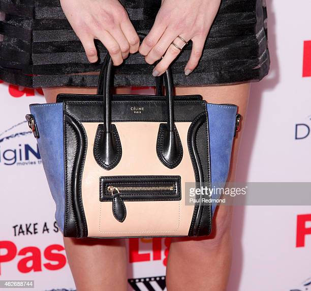 Actress Anne Winters arriving at the premiere of Pass The Light at ArcLight Cinemas on February 2 2015 in Hollywood California