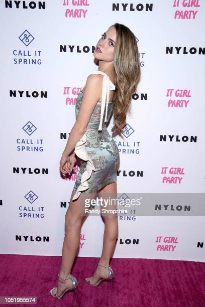 Actress Anne Winters attends NYLON's annual It Girl Party sponsored by Call It Spring at Ace Hotel on October 11 2018 in Los Angeles California