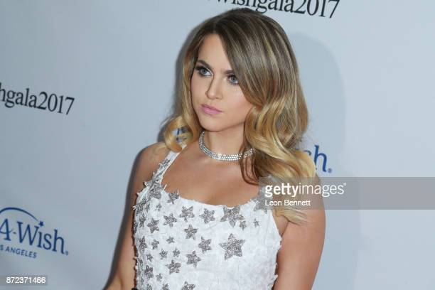 Actress Anne Winters attends the MakeAWish Greater Los Angeles 2017 Wish Gala at Hollywood Palladium on November 9 2017 in Los Angeles California