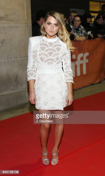 Actress Anne Winters attends the premiere of 'Mom and Dad' during the 2017 Toronto International Film Festival at Ryerson Theatre on September 9 2017...