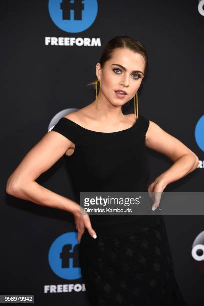 Actress Anne Winters of Grand Hotel attends during 2018 Disney ABC Freeform Upfront at Tavern On The Green on May 15 2018 in New York City