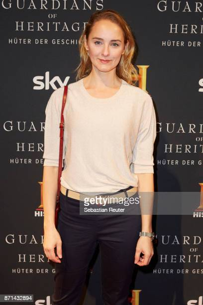 Actress AnneCatrin Maerzke attends the preview screening of the new documentary 'Guardians of Heritage Hueter der Geschichte' by German TV channel...