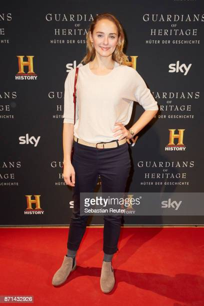 Actress Anne-Catrin Maerzke attends the preview screening of the new documentary 'Guardians of Heritage - Hueter der Geschichte' by German TV channel...