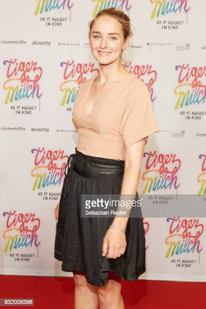Actress AnneCatrin Maerzke attends the 'Tigermilch' premiere at Kino in der Kulturbrauerei on August 15 2017 in Berlin Germany