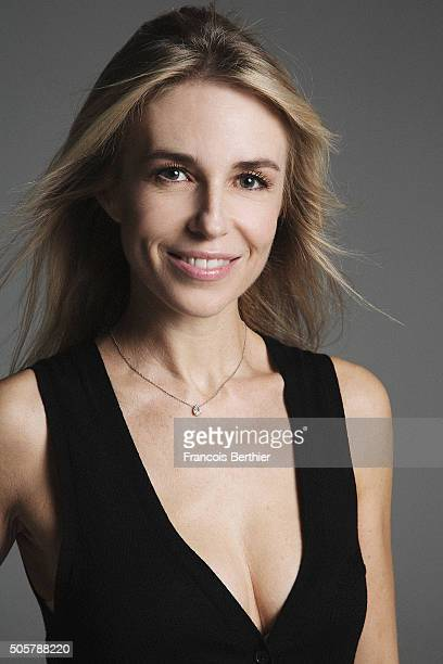 Actress AnneCharlotte Pontabry is photographed for Self Assignment on October 12 2015 in Paris France