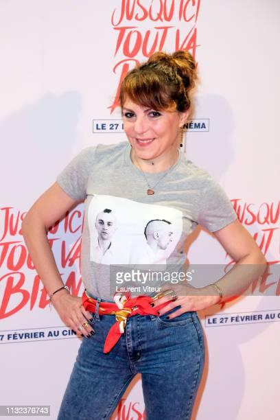 Actress AnneElisabeth Blateau attends the Jusqu'Ici Tout Va Bien at Cinema Gaumont Opera on February 26 2019 in Paris France
