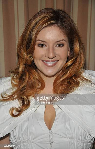 Actress Anneliese van der Pol arrives at 'I AM PWD Inclusion in Arts Media of People With Disabilities' Campaign at Sunset Tower on June 14 2010 in...