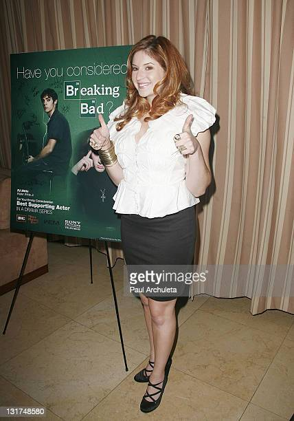 Actress Anneliese van der Pol arrives at the 'I AM PWD' campaign party at Sunset Tower on June 14 2010 in West Hollywood California