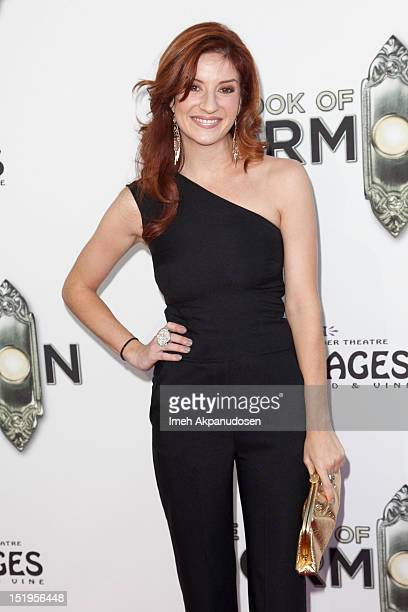 Actress Anneliese van der Pol attends the premiere of 'The Book Of Mormon' at the Pantages Theatre on September 12 2012 in Hollywood California