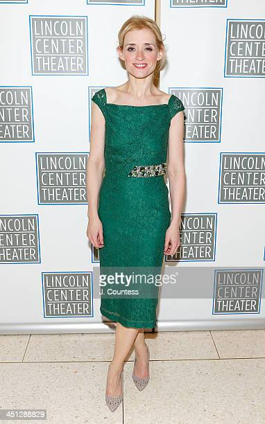 Actress AnneMarie Duff attends the afterparty for the opening night of Shakespeare's Macbeth at Avery Fisher Hall Lincoln Center on November 21 2013...