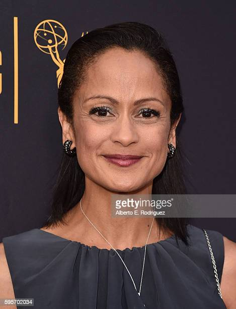 Actress AnneMarie Johnson attends the Television Academy And SAGAFTRA's 4th Annual Dynamic and Diverse Celebration at The Saban Media Center on...