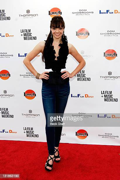 Actress Annemarie Pazmino attends the world premiere of 'Skyler' at Laemmle's Music Hall 3 on March 25 2011 in Beverly Hills California