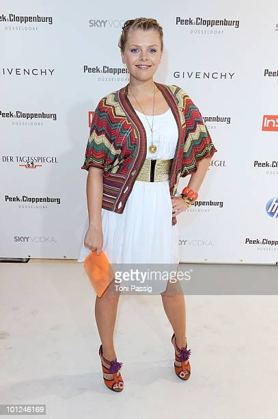 Actress AnneSophie Briest attends the 'Sex And The City 2' movie night at the Peek Cloppenburg flagship store on May 28 2010 in Berlin Germany