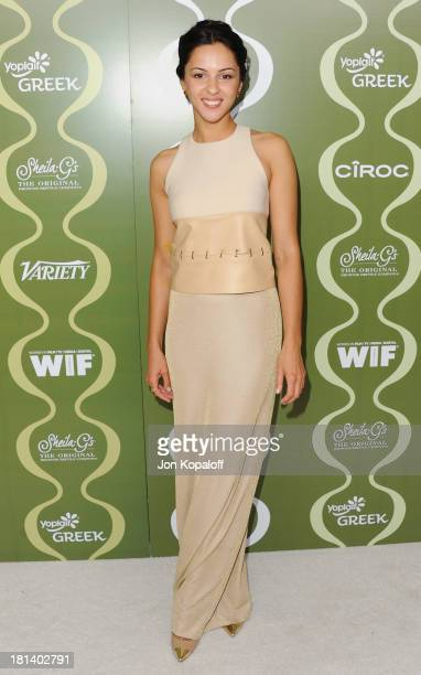 Actress Annet Mahendru arrives at the Variety And Women In Film Pre-Emmy Party at Scarpetta on September 20, 2013 in Beverly Hills, California.