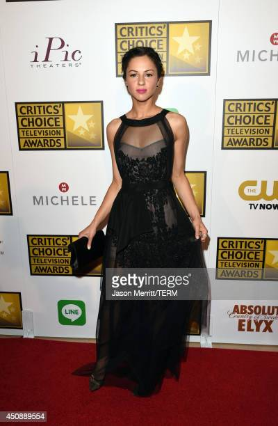 Actress Annet Mahendru attends the 4th Annual Critics' Choice Television Awards at The Beverly Hilton Hotel on June 19 2014 in Beverly Hills...