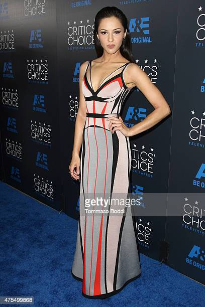 Actress Annet Mahendru attends the 5th annual Critics' Choice Television Awards at The Beverly Hilton Hotel on May 31 2015 in Beverly Hills California