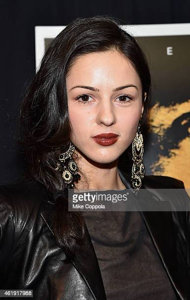 Actress Annet Mahendru attends the 'Black Sea' New York screening at Landmark Sunshine Cinema on January 21 2015 in New York City