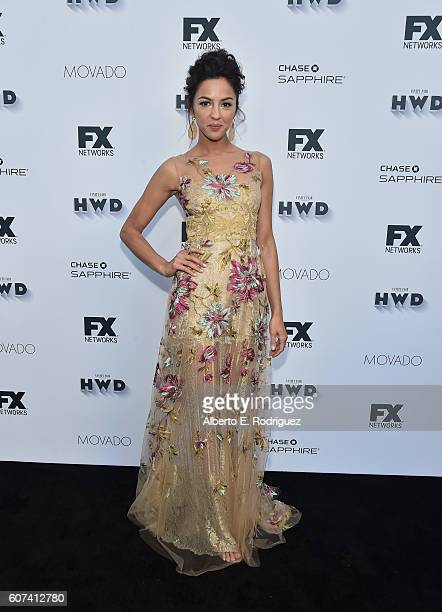 Actress Annet Mahendru attends the Vanity and FX Annual Primetime Emmy Nominations Party at Craft Restaurant on September 17 2016 in Beverly Hills...