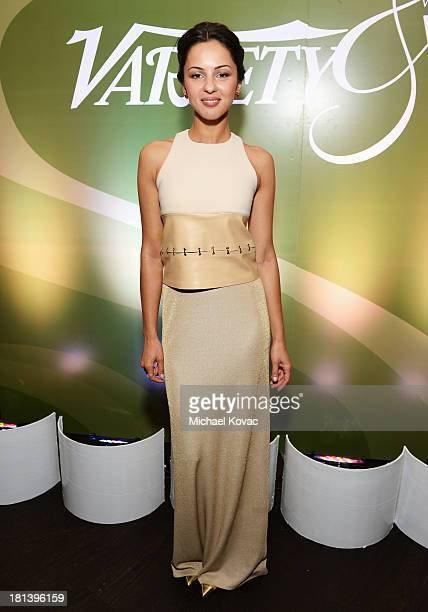 Actress Annet Mahendru attends Variety & Women In Film Pre-Emmy Event presented by Yoplait Greek at Scarpetta on September 20, 2013 in Beverly Hills,...