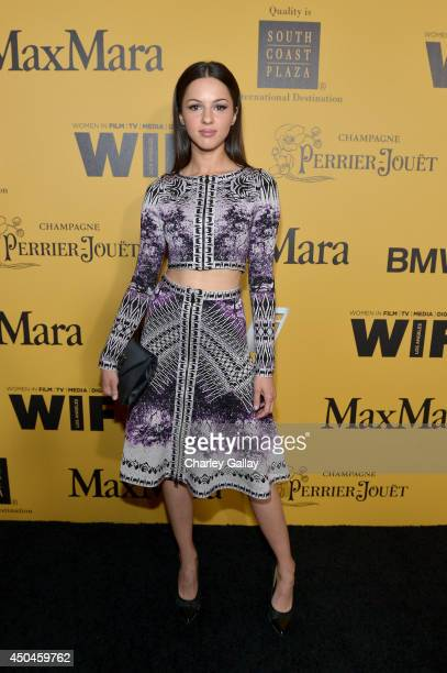 Actress Annet Mahendru attends Women In Film 2014 Crystal Lucy Awards presented by MaxMara BMW PerrierJouet and South Coast Plaza held at the Hyatt...