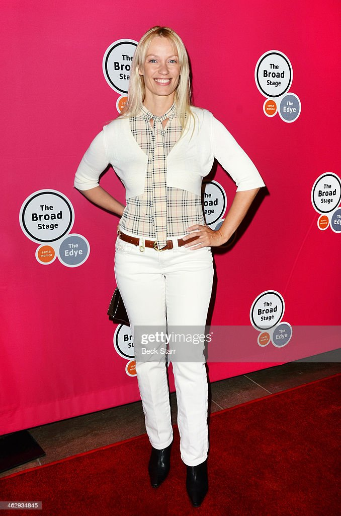 Actress Annett Culp attends the opening night of 'An Iliad' at The Eli and Edythe Broad Stage on January 15, 2014 in Santa Monica, California.