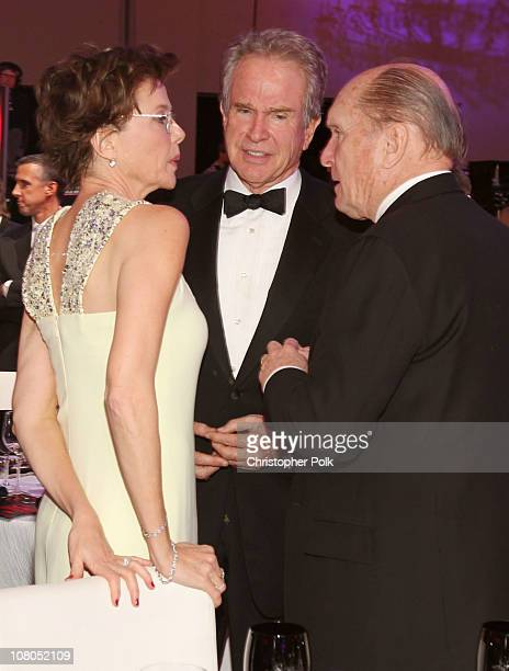 Actress Annette Bening actor Warren Beatty and Robert Duvall attend the 16th annual Critics' Choice Movie Awards at the Hollywood Palladium on...
