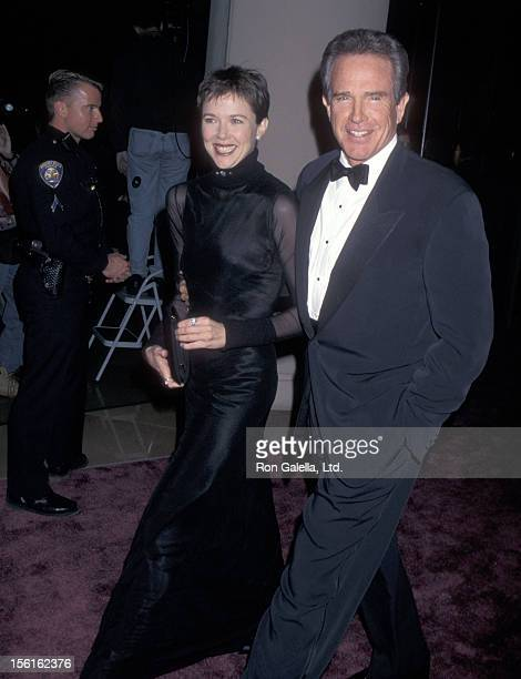 Actress Annette Bening and actor Warren Beatty attend the 24th Annual American Film Institute Lifetime Achievement Award Salute to Clint Eastwood on...