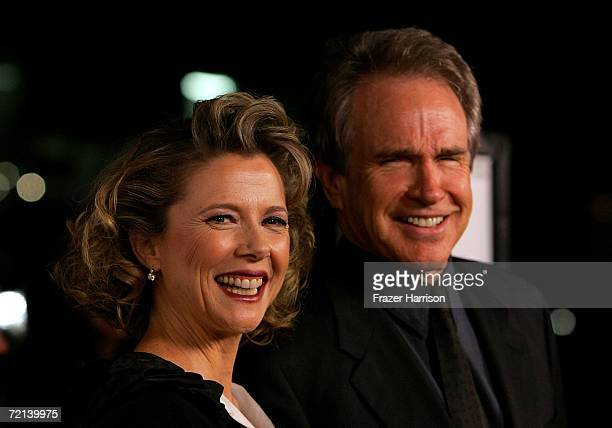 Actress Annette Bening and Warren Beatty arrive at the world premiere of Tristar Picture's Running With Scissors at the Academy of Motion Picture...