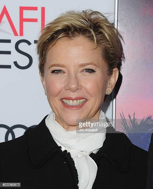Actress Annette Bening arrives at AFI FEST 2016 Presented By Audi Opening Night Premiere Of 20th Century Fox's Rules Don't Apply at TCL Chinese...