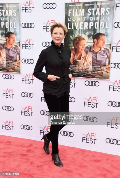 Actress Annette Bening arrives at the AFI FEST 2017 Presented By Audi screening of 'Film Stars Don't Die In Liverpool' at the TCL Chinese Theatre on...