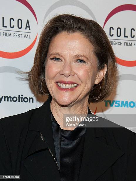 Actress Annette Bening arrives at the COLCOA French Film Festival Premiere Of 'The Search' at Directors Guild Of America on April 23 2015 in Los...