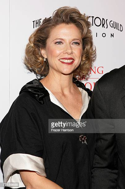 Actress Annette Bening arrives at the world premiere of Tristar Picture's Running With Scissors at the Academy of Motion Picture Arts Sciences...