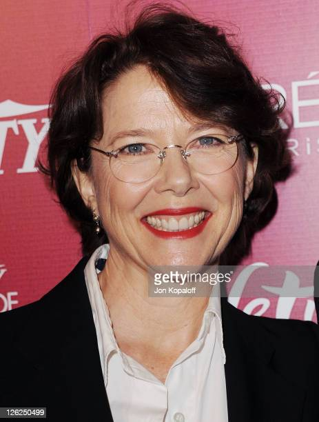 Actress Annette Bening arrives at Variety's 3rd Annual Power Of Women Luncheon at the Beverly Wilshire Four Seasons Hotel on September 23, 2011 in...
