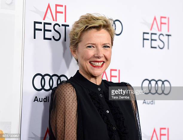 Actress Annette Bening attends a tribute to Annette Bening and gala screening of A24's 20th Century Women at AFI Fest 2016 presented by Audi at The...