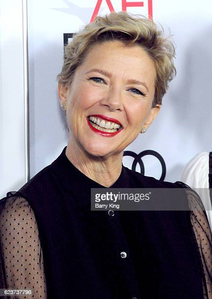 Actress Annette Bening attends a tribute to Annette Bening and gala screening of A24's '20th Century Women' during AFI FEST 2016 presented by Audi at...