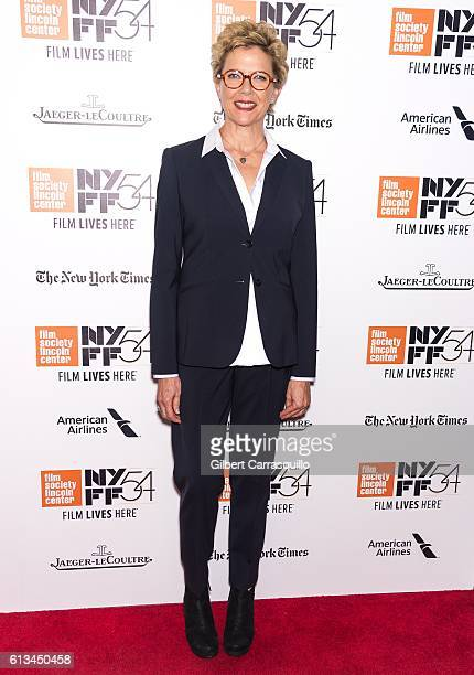 Actress Annette Bening attends the '20th Century Women' Premiere during the 54th New York Film Festival at Alice Tully Hall Lincoln Center on October...