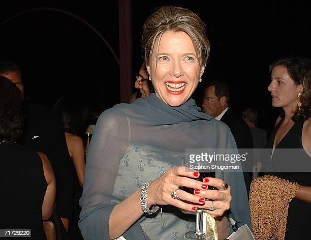 Actress Annette Bening attends the HBO Post Emmy Party held at The Plaza at the Pacific Design Center on August 27, 2006 in West Hollywood,...