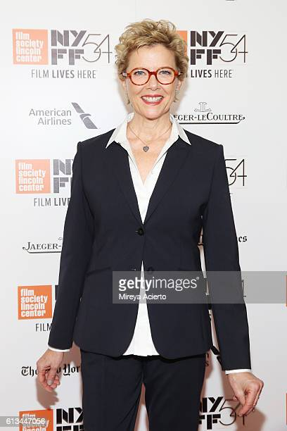 Actress Annette Bening attends the premiere of '20th Century Women' at the 54th New York Film Festival on October 8 2016 in New York City