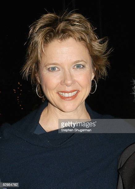 Actress Annette Bening atttends the Library Foundation of Los Angeles 2005 Awards Dinner honoring Harper Lee at the City National Plaza on May 19...