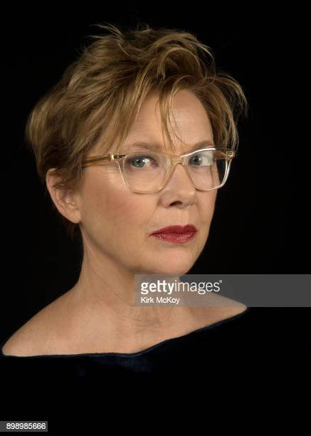 Actress Annette Bening is photographed for Los Angeles Times on November 11 2017 in Los Angeles California PUBLISHED IMAGE CREDIT MUST READ Kirk...