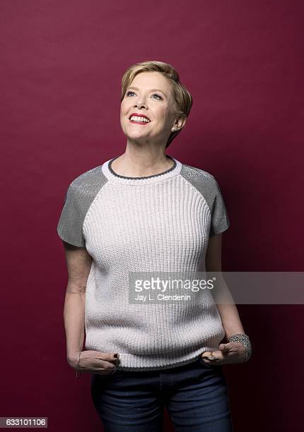 Actress Annette Bening is photographed for Los Angeles Times on December 15 2016 in West Hollywood California Published Image CREDIT MUST READ Jay L...
