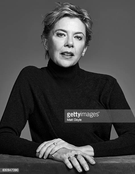 Actress Annette Bening poses for Back Stage on October 11 in New York City PUBLISHED COVER