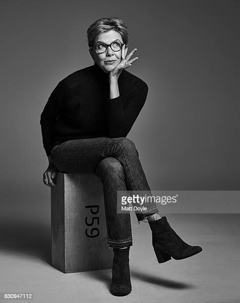 Actress Annette Bening poses for Back Stage on October 11 in New York City PUBLSHED IMAGE