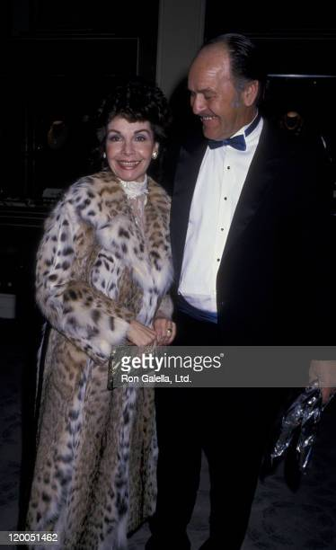 Actress Annette Funicello and husband Glen Holt attend Sixth Annual American Cinema Awards on January 6 1989 at the Beverly Hilton Hotel in Beverly...